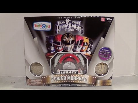 Legacy Movie Power Morpher White Ranger Edition [Mighty Morphin Power Rangers: The Movie]