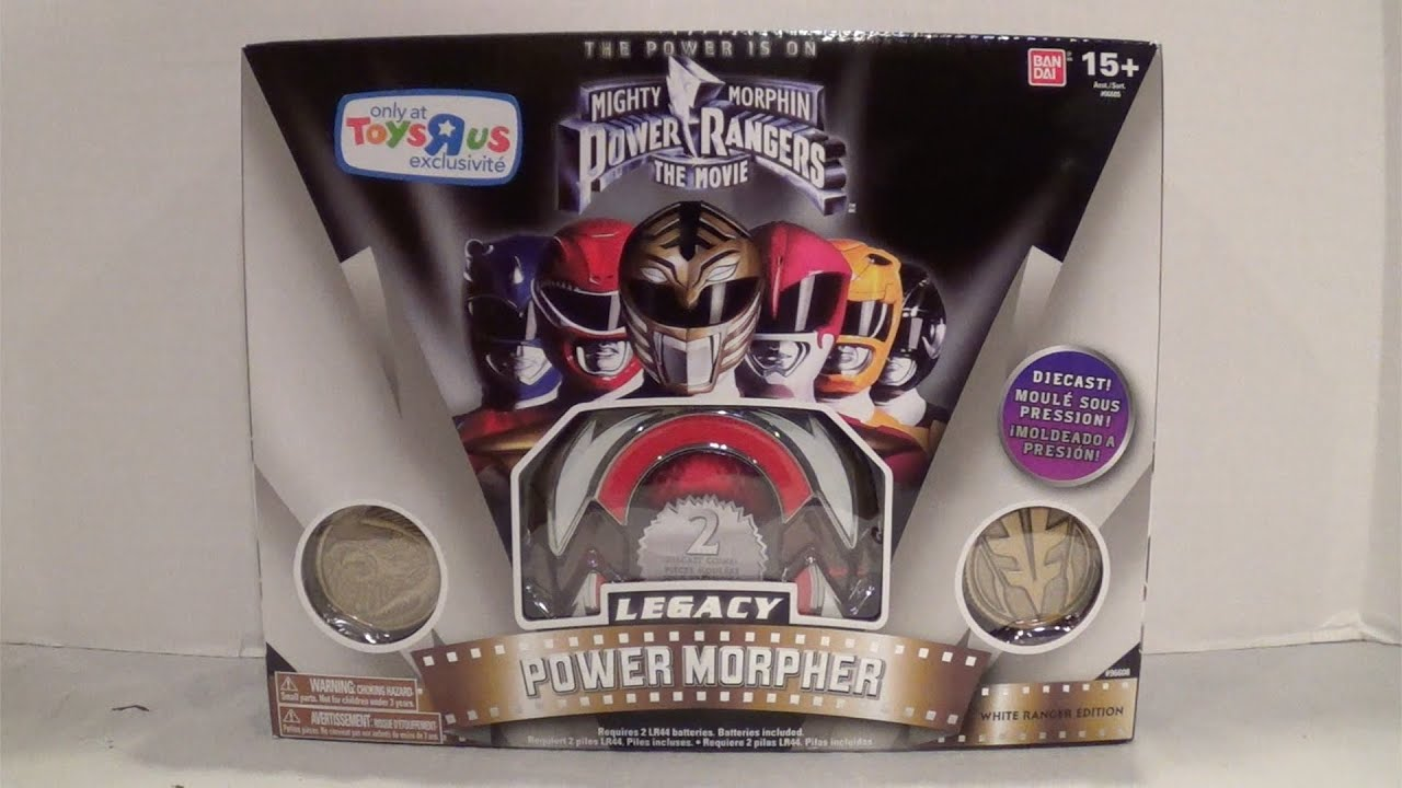Legacy Movie Power Morpher White Ranger Edition [Mighty