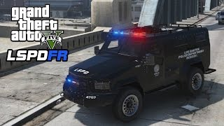 GTA 5 - LSPDFR Playing As A Cop - SWAT Patrol 9 - Episode #57: Plane Shot Down/Lenco Bearcat