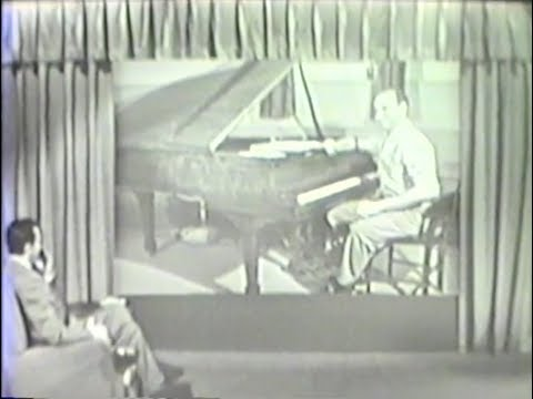 Roger Williams  WARSAW CONCERTO  'PERSON TO PERSON' TV   with Ed Murrow 1958