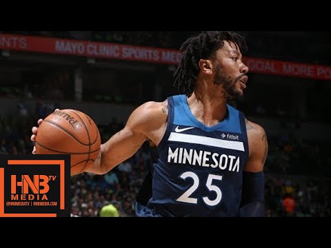 c2c00562316 Minnesota Timberwolves vs Houston Rockets Full Game Highlights / Game 4 /  2018 NBA Season