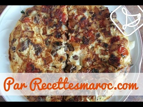 tortilla-rapide-pizza-style---quick-pizza-style-tortilla---طورطية