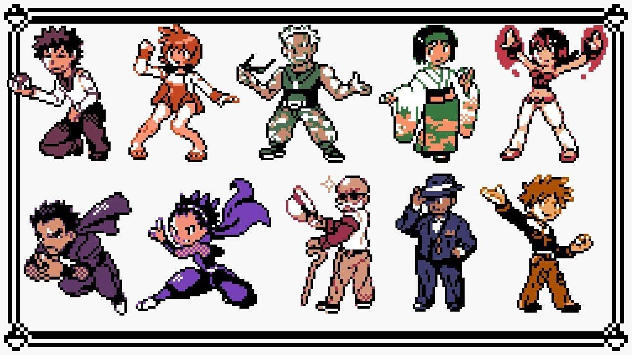 Firered Leafgreen Gym Leaders