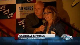 Giffords, Kelly hold gun control platform-focused election rally