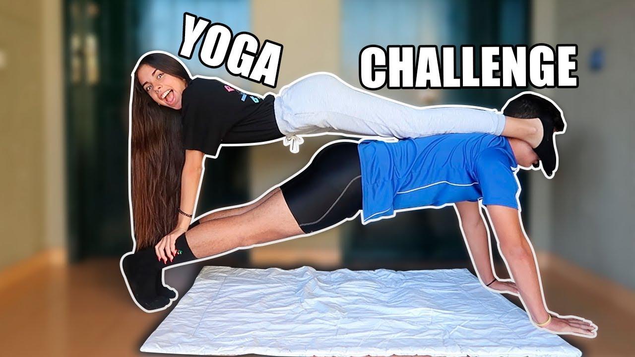 Download YOGA CHALLENGE CON MI NOVIO HERMANO