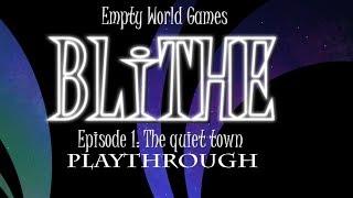 BLITHE - Episode 1 : The quiet town - Playthrough (Dark Fantasy Puzzle Game)