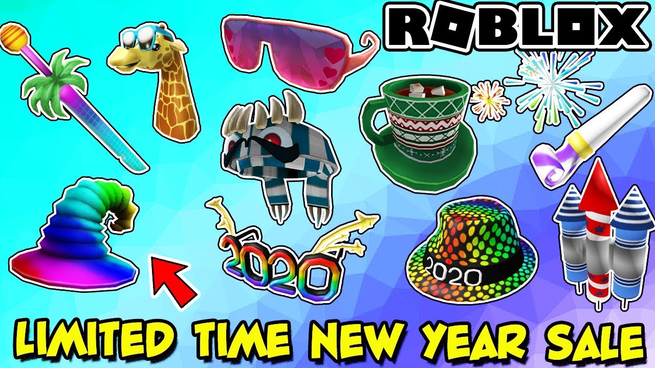 Roblox News New Year S Day Limited Time Sale Awesome 2020 Ugc