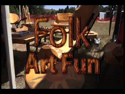 Folk Art Fun at Rock Ledge Ranch - Colorado Springs