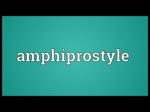 Amphiprostyle Meaning