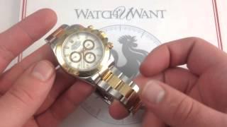 Rolex Cosmograph Daytona 116523 Luxury Watch Review