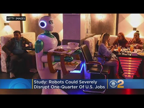 Report: AI, Robots Coming To Take 36 Million Jobs Away From Americans