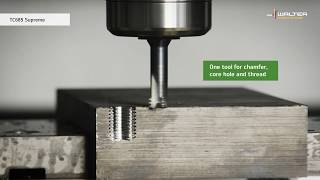 SUPREME THREADING TOOLS: Specialists for ISO H machining