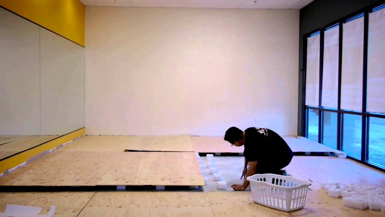 How to build the ultimate spring subfloor for your Judo