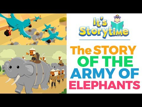 The Story of the Army of Elephants by ZAKY