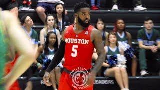 Houston's Corey Davis Jr. vs. Tulane (26 points, 8/11 3-pointers)