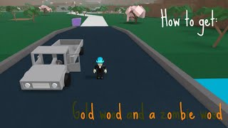 How to get gold wood zombie wood roblox lumber tycoon 2