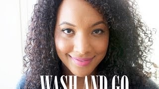 The PERFECT Wash and Go! || Transitioning Hair
