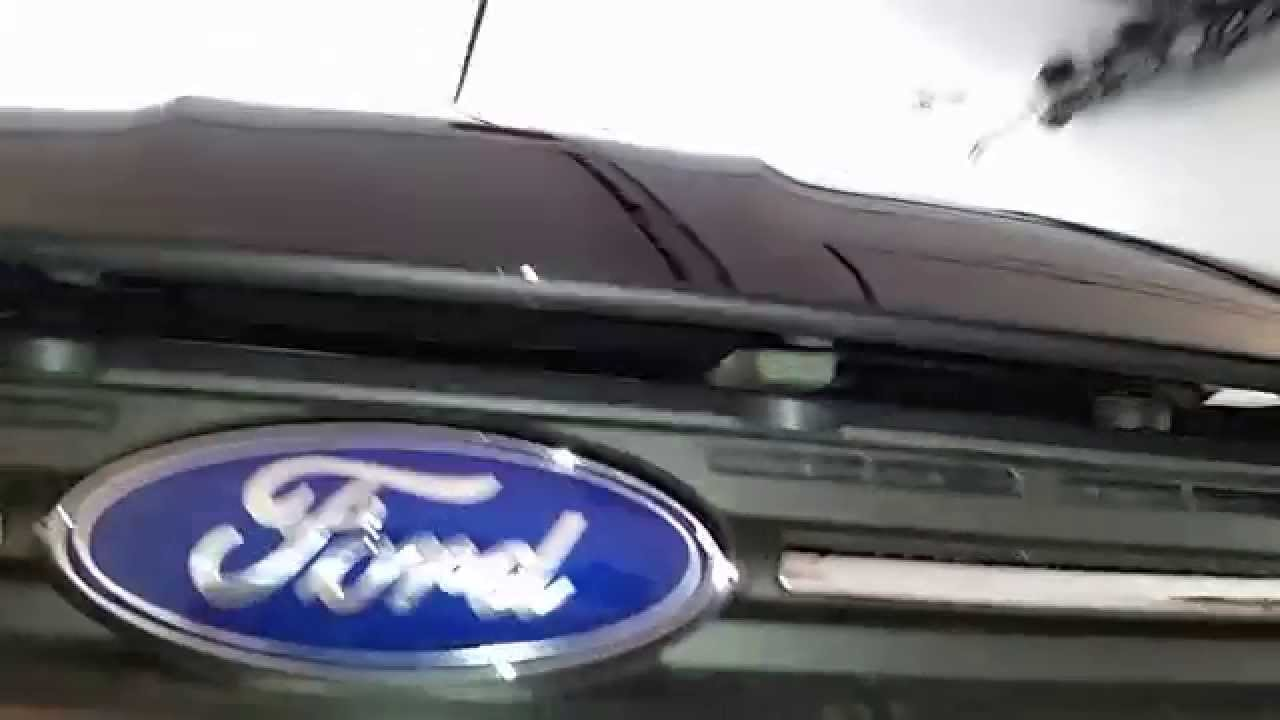 ford escape suv   open  hood find  hood release latch youtube