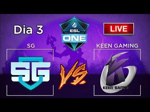[PT-BR] Dia 3 Major ESL One: SG vs KEEN jogo eliminatório BO3