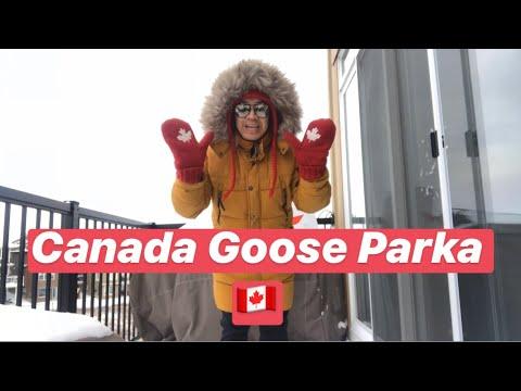 Unboxing Canada Goose Parka Jacket