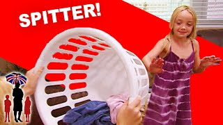 Supernanny | Kid Spits on Her Older Sister and Gets Away with It!