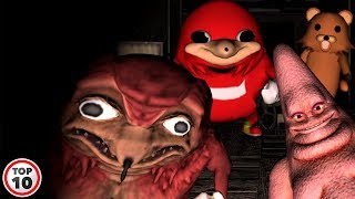 Top 10 Scary Sonic The Hedgehog Gaming Moments