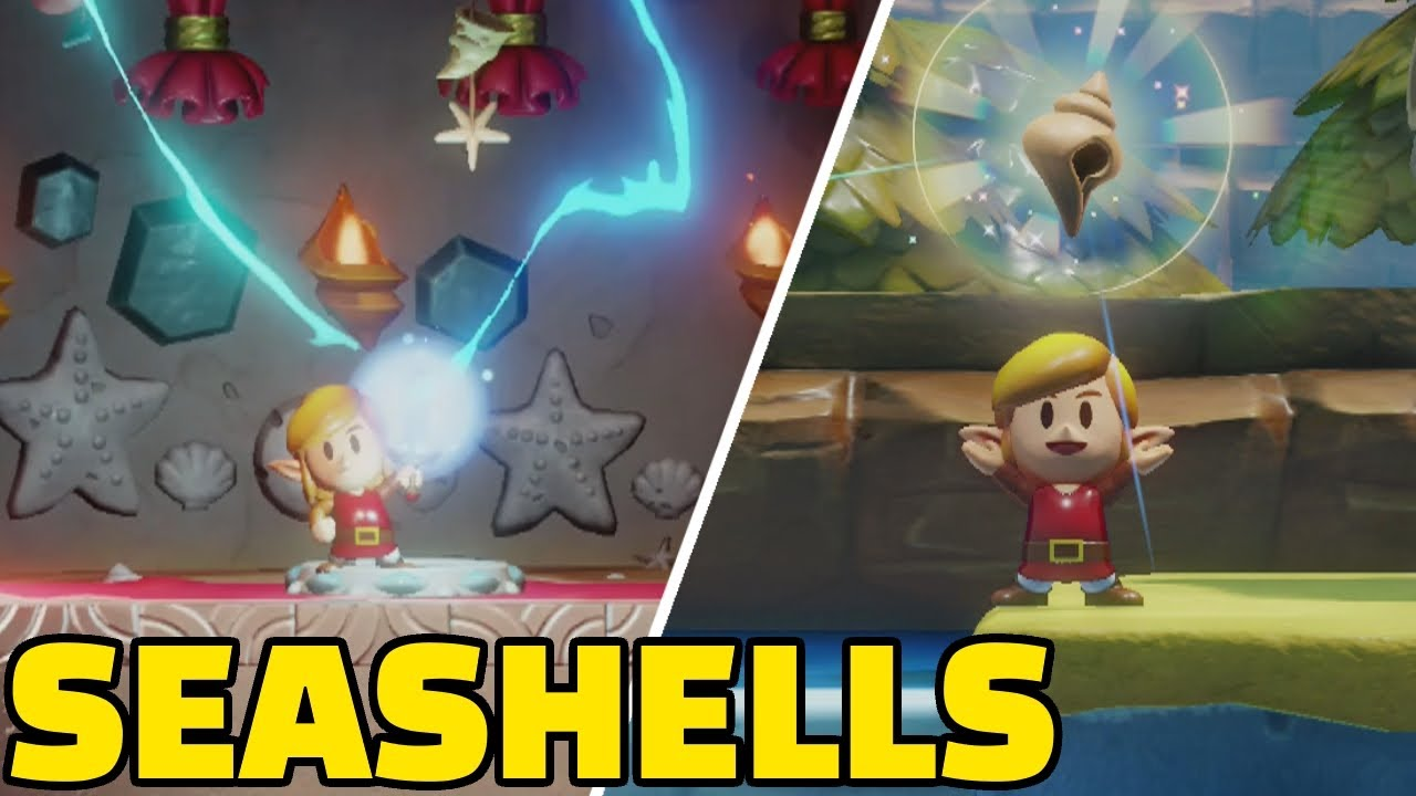 All Secret Seashells Location How To Get The Koholint Sword Legend Of Zelda Link S Awakening