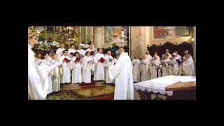 REGINA CAELI LAETARE, Antifona gregoriana, Schola Gregoriana Mediolanensis, direttore Giovanni Vianini, Milano, Italia