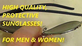 smacrezi folding sunglasses uv400 protection for men women