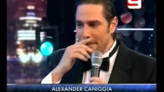 El segundo intento de hacer reir a Alexander Caniggia