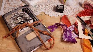 October Halloween Autumn Junk Journal Tutorial - Start to Finish!