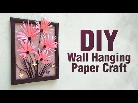 DIY wall hanging/ Paper craft