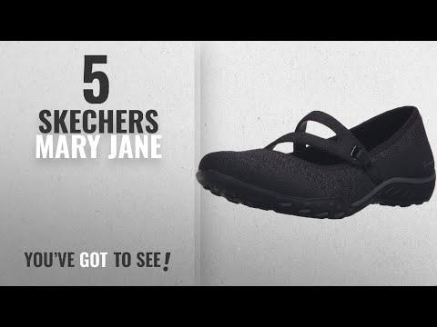 2ecc75919dd4 Top 5 Skechers Mary Jane  2018   Skechers Sport Women s Breathe Easy Lucky  Lady