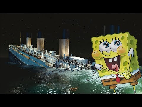 I Put 'Best Day Ever' (Spongebob) Over The Titanic Sinking and Jack's Death