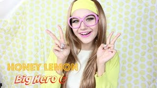 Big Hero Honey Lemon Makeup Tutorial