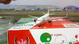 Video Unboxing VIVA AEROBUS A320 phoenix 1/400...(vale la pena)  🙁 download MP3, 3GP, MP4, WEBM, AVI, FLV Agustus 2018