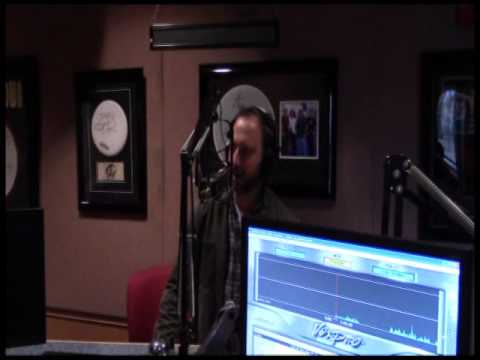 Comedian Tom Green in Studio at KOMP 92.3 in Las Vegas