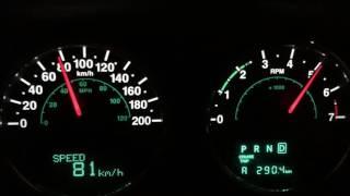 Jeep JKU 3.6 Penta 0 - top speed