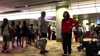 Airport Rage at Changi Airport