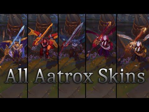 ALL Aatrox Skins 2019 - League of Legends