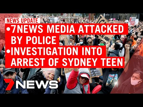 7NEWS Update Tuesday, June 2: Media Attacked By US Police, Investigation Into Teen's Arrest | 7NEWS