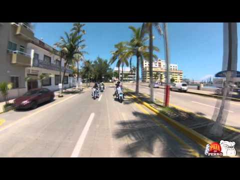 Recorrido por el Boulevard costero de Veracruz y Boca del Río, México