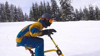 90KM PER UUR MET DE SNOWBIKE!!! #1648