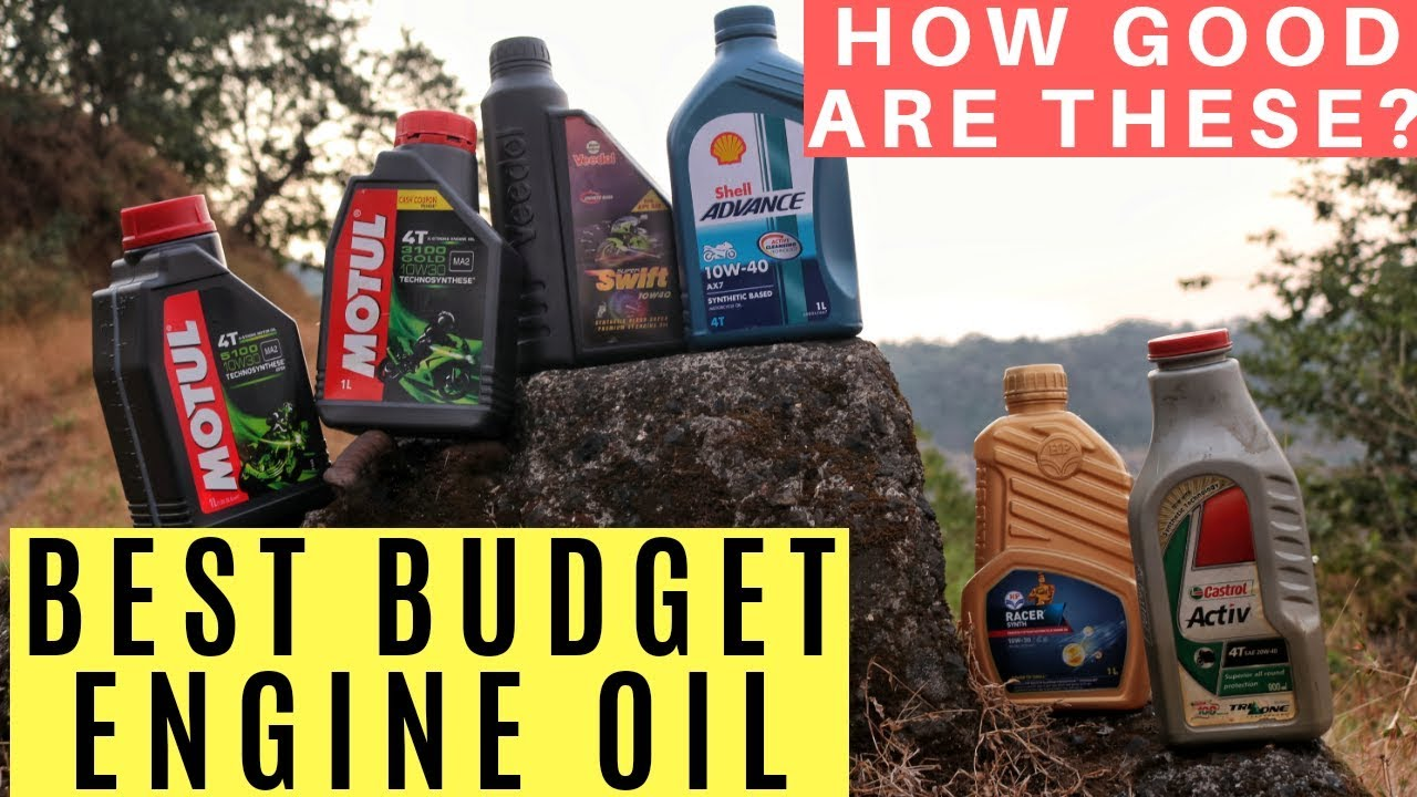 Best Engine Oil For Bike Scooter Best Semi Synthetic Engine Oil