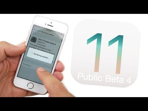 iOS 11 Public Beta 4 Released! - What's New?