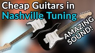 NASHVILLE TUNING: Cheap SQUIER MINI guitars create gorgeous CHIME and SHIMMER  - Producer's Secret