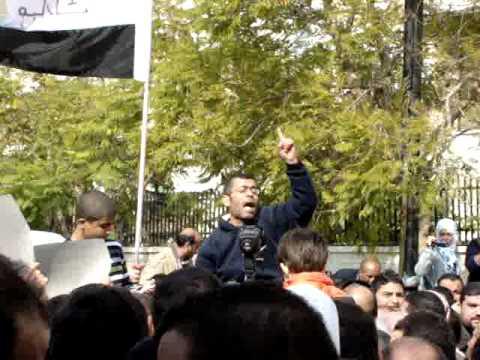 Protests in Jordan outside Egyptian Embassy in Amman