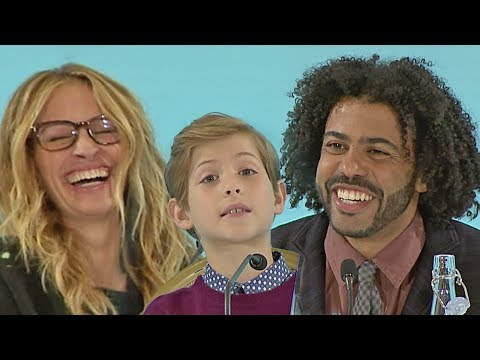 Wonder - full press conference with Julia Roberts, Owen Wilson, Daveed Diggs (2017)