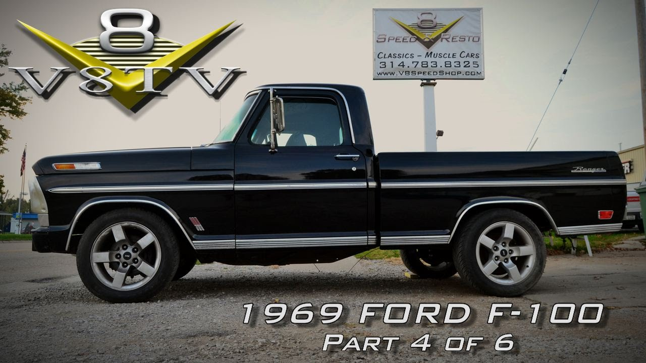 1969 ford f100 supercharged 5 4 2002 ford lightning thunderstruck video part 4 of 6 v8tv youtube