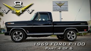 1969 Ford F100 / 2002 Ford Lightning ThundersTruck Video Part 4 of 6  V8TV
